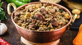 10 receitas de farofa de pinhão para um prato diferente e megagostoso