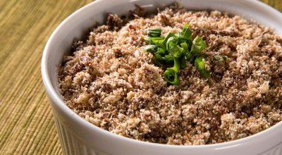 7 receitas de farofa de soja que vão transformar suas refeições