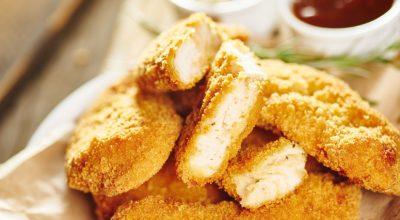 15 receitas de filé de frango empanado suculentas e crocantes