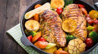 14 receitas de frango com legumes para uma refeição colorida e saborosa