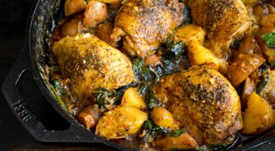 10 receitas de frango cozido com batata para aquele almoço incrível