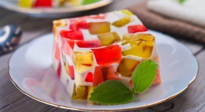 10 receitas de gelatina colorida cremosa que agradam crianças de todas as idades