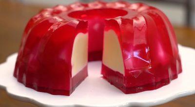 10 receitas de gelatina recheada que são surpreendentes e fáceis