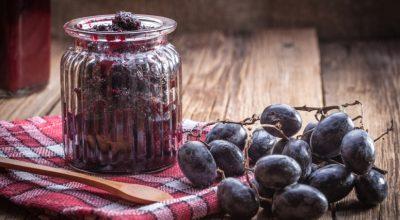 10 receitas de geleia de uva para deixar seus convidados impressionados
