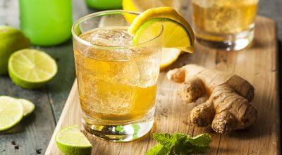 10 receitas de ginger ale que merecem respeito pela refrescância