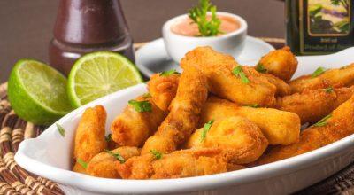 6 receitas de iscas de peixe perfeitas para um happy hour