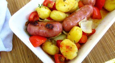 17 receitas de linguiça com batata para quem ama boas combinações
