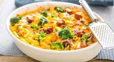 10 receitas de macarrão com brócolis e bacon que são práticas e deliciosas