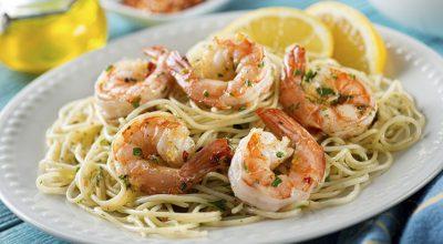 57 receitas de macarrão com camarão que são sofisticadas e deliciosas