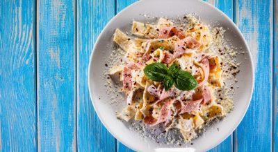 12 receitas de macarrão com queijo e presunto que vão dar água na boca
