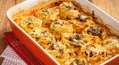 10 receitas de macarrão ninho recheado que encherão sua mesa de sabor