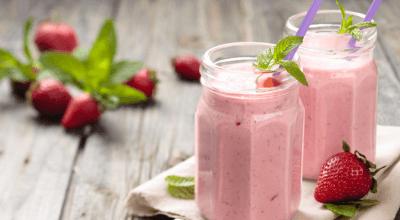 9 receitas de milk-shake de morango ideais para mandar o calor embora