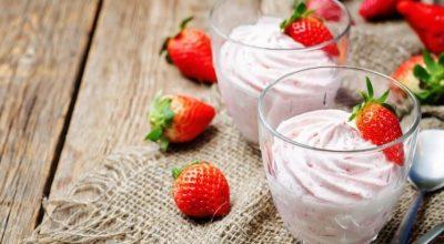 22 receitas de mousse de morango mais fáceis que existem