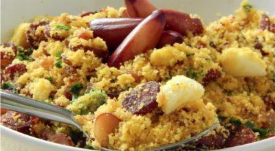 7 receitas de paçoca de pinhão para incrementar suas refeições