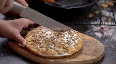 11 receitas de pão de aveia de frigideira para um lanche saudável