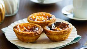 6 receitas de pastel de nata que farão você se sentir em Portugal