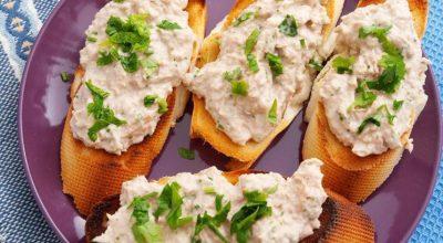 10 receitas de patê de atum que vão deixar seu lanche mais gostoso