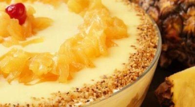 12 receitas de pavê de abacaxi para comer e se apaixonar