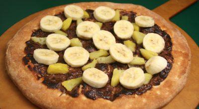 10 receitas de pizza de banana para se sentir no rodízio