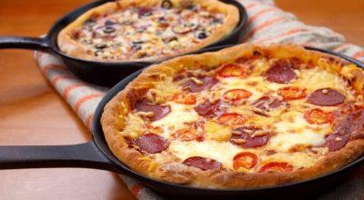 15 receitas de pizza de frigideira para fazer em pouquíssimo tempo