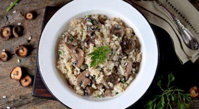 26 receitas de risoto de funghi que vão conquistar qualquer paladar