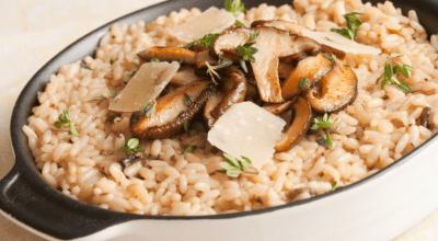 20 receitas de risoto de shitake para uma refeição cheia de sabor