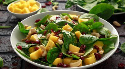 20 receitas de salada com manga que vão te encantar pelo sabor agridoce