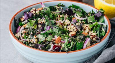10 receitas de salada de couve para uma entrada leve e diferente
