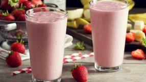 10 receitas de smoothie de morango que vão refrescar o seu dia