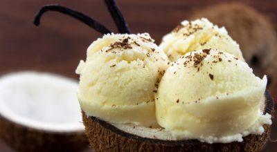 14 receitas de sorvete de coco para se refrescar com muito sabor