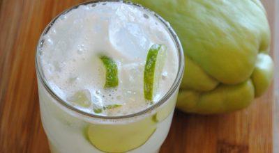 6 receitas de suco de chuchu que vão te surpreender com sabor e benefícios