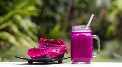 7 receitas de suco de pitaya que merecem um minuto de atenção