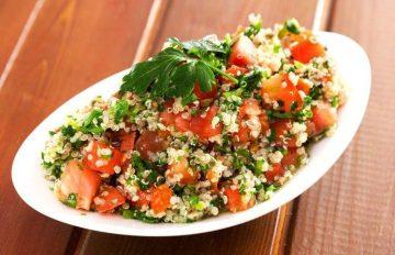 29 receitas de tabule, prato libanês de salada bem gostoso