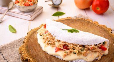 10 receitas de tapioca fit deliciosas para saborear em todas as refeições
