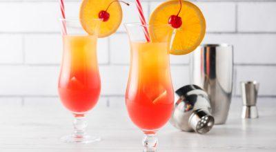 10 receitas de tequila sunrise para festejar com esse drink colorido