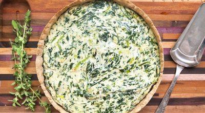 24 receitas de torta de alho-poró aromatizadas e muito gostosas