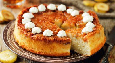 8 receitas de torta de banana caramelizada para se lambuzar de sabor