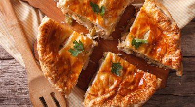 8 receitas de torta de frango com massa podre para derreter na boca