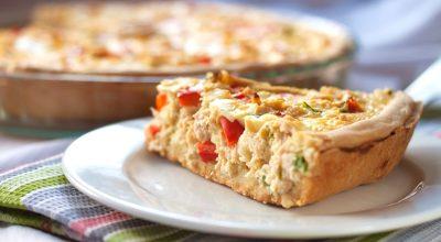 12 receitas de torta de frango rápida para refeições práticas e deliciosas