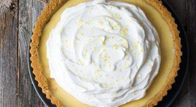 24 receitas de torta de limão deliciosas para arruinar sua dieta