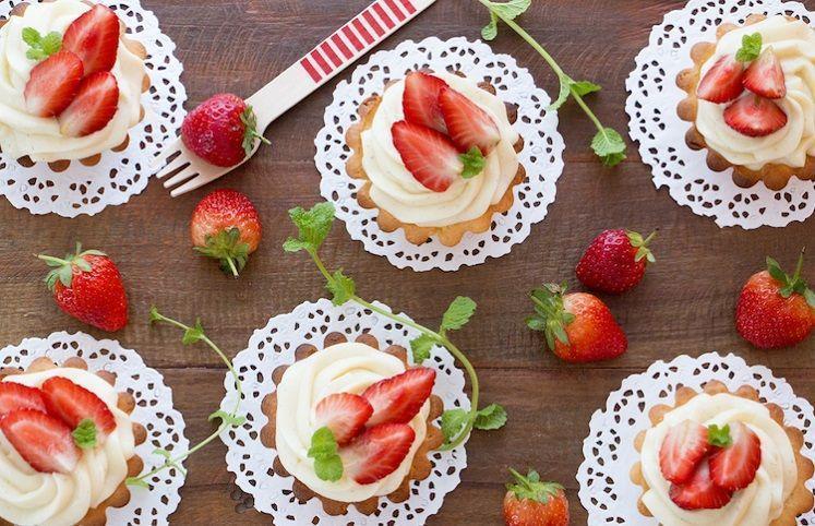 40 receitas de torta de morango que te deixarão com água na boca