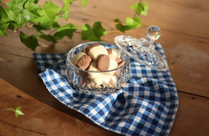 Sequilhos de chocolate e leite Ninho