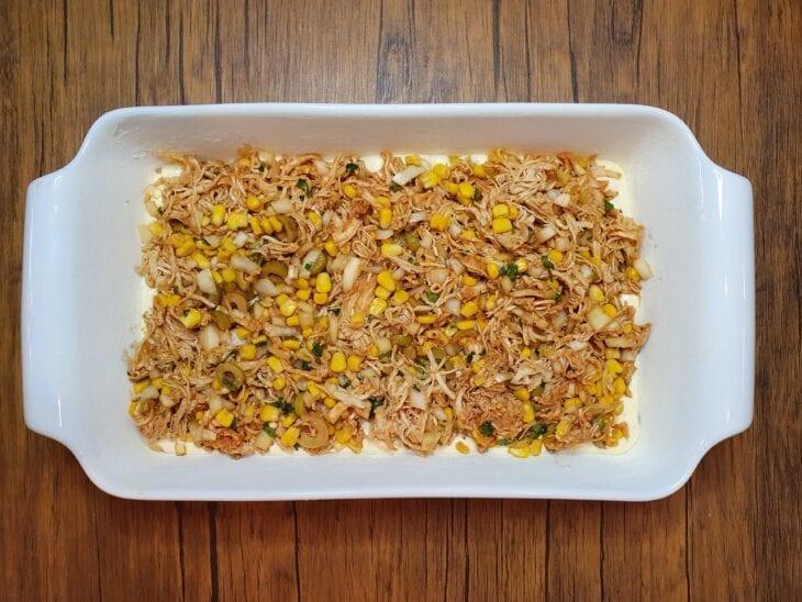 Torta de frango supercremosa - Passo a passo
