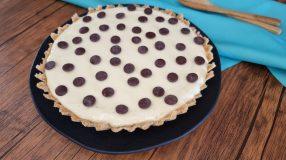Torta de limão com chocolate muito fácil
