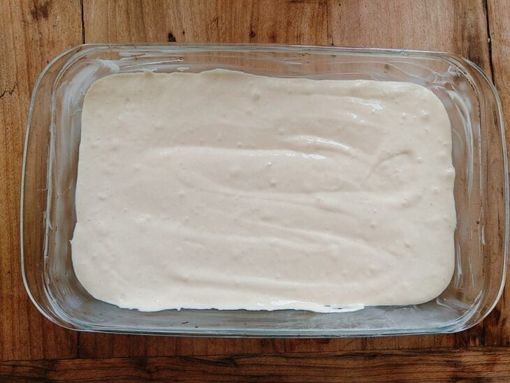 Torta de salsicha de liquidificador - Passo a passo