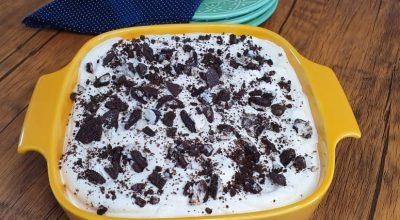 Torta gelada de Oreo fácil