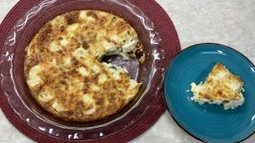 Torta low carb de palmito fácil
