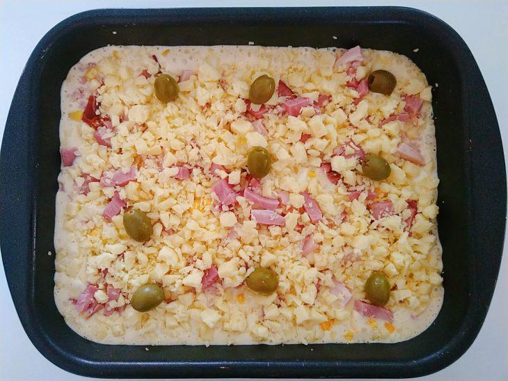 Torta portuguesa de liquidificador - Passo a passo